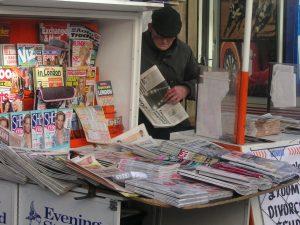 Nauka angielskiego online - Angielski Słówka - Blog o języku angielskim - Newsagent's